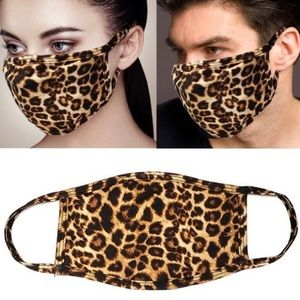 Leopard Print Masks